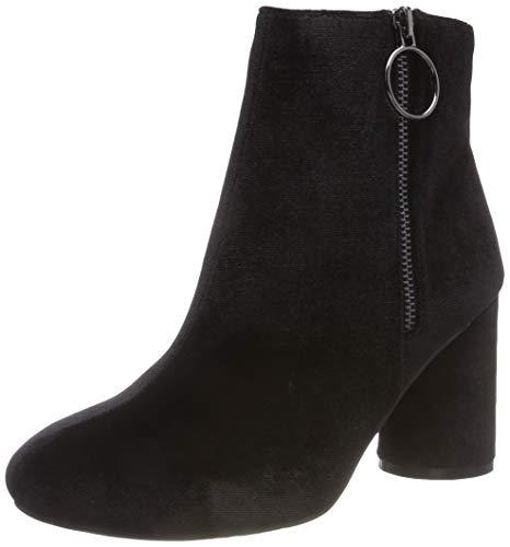 Bianco Damen Round Heel Ankle Boot Stiefeletten, Schwarz (Black 104), 39 EU