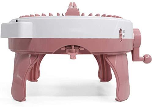48 Máquina de Tejer de Aguja, máquina de Tejer con mostrador de Fila, Telar de Tejido Inteligente, Kit de máquinas de Punto de Punto, Adecuado para Adultos/niños de Bricolaje de Bricolaje