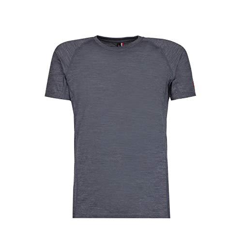 ROCK EXPERIENCE Makani 951 T-Shirt à Manches Courtes pour Homme - Gris - S