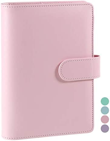A5 PU Leather Notebook Binder Refillable A5 Inner Filler Papers Journal Binder Cover with 6 product image
