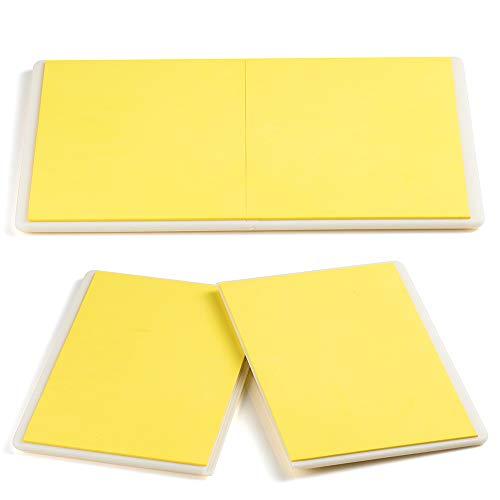 Aship Rebreakable Boards Martial Arts Taekwondo Karate MMA Ninja Training Practice ABS+EVA Foam Breaking Board for Kids Adults-Yellow