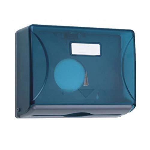Baifeng Dispensador de pañuelos de papel, toalla de pared, dispensador de pañuelos de papel para baño, caja de almacenamiento impermeable y resistente al polvo