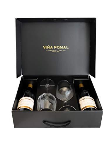 Estuche 2 Viña Pomal Terruño Centenario Reserva de 75cl - Regalar vino tinto Rioja 100% Tempranillo
