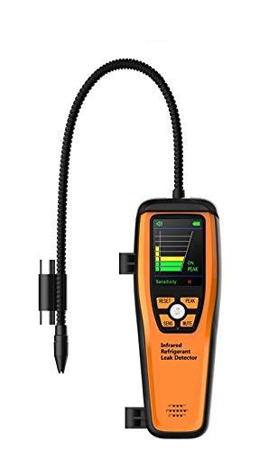 Elitech ILD-200 Detector de Fugas de Refrigerante Avanzado Infrarrojos Alta Sensibilidad Probador de Fugas Comprobador de Alta Sensibilidad 10 años de Vida✩3 años de Garantía✩