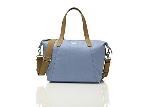 Storksak Wickeltasche Noa Powder Blue (Hellblau) inkl. Mini Bag