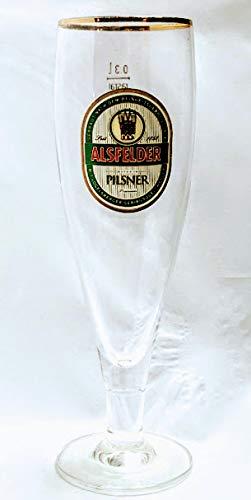 Alsfelder 0,3l Glas/Pilsner/Bierglas/Biergläser/Gläser/Goldrand/Bier/Gastro/Bar/Sammler/Sammel / 5er Set