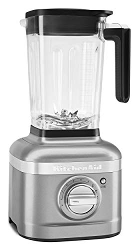 KitchenAid KSB4027CU K400 Countertop Blender, 56 OZ, Contour Silver