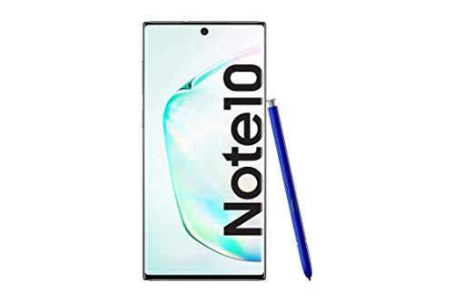 Samsung Galaxy Note10, Smartphone (Dual SIM, 8GB RAM, 256GB Memoria, 10 MP Dual Pixel AF), Android, 256GB, Brillante