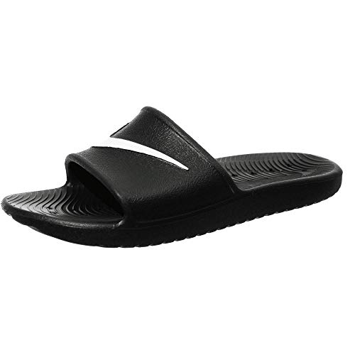Nike Kawa Shower, Zapatos de Playa y Piscina para Hombre, Negro (Black/White), 38.5 EU