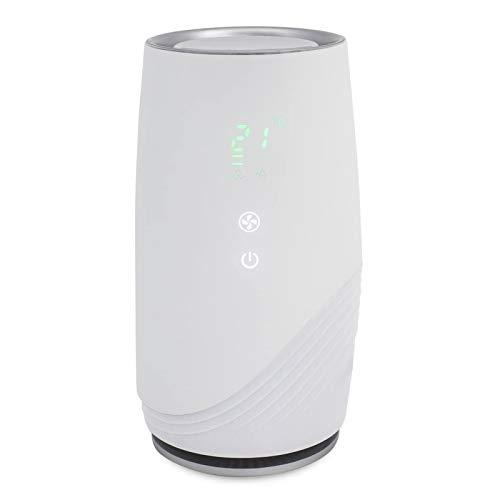 SZHWLKJ Compact Ultra Silenzioso purificatore pulisce Aria HEPA Filtro, casa Aria più Pulita, rimuove Gli allergeni, Polvere, Fumo, batteri sterilizza