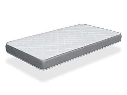 Matelas 90X190 Confort Basic – Hauteur 12 cm – Rembourrage Super Soft - Juvénil - idéal pour Les Lits gigognes -