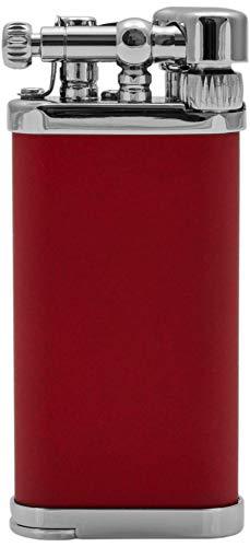 IM Corona Pfeifen rot Feuerzeug der Old Boy Klassiker Made in Japan schräge Flamme