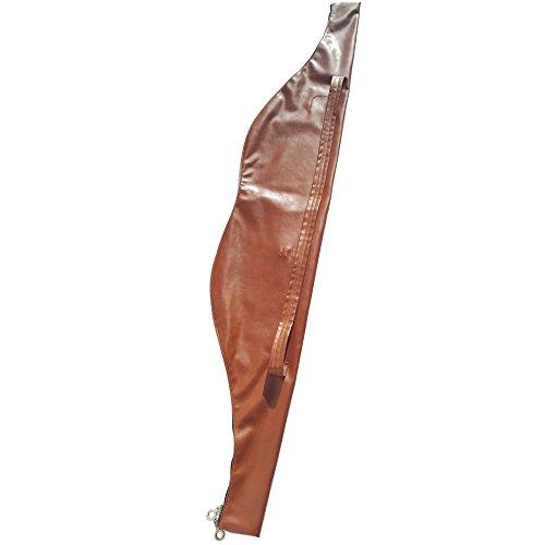 ZSHJG Bogenschießen Bogenschießen Tasche 152,4 cm traditionelle Recurve Bogen Tasche für Langbogen Pferd Bogen, braun