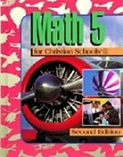 Math 5 for Christian Schools