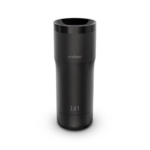 Ember Thermobecher mit Temperaturkontrolle, 340 ml, Schwarz, 2 Stunden Akkulaufzeit, App-gesteuert, beheizter Kaffeebecher für unterwegs
