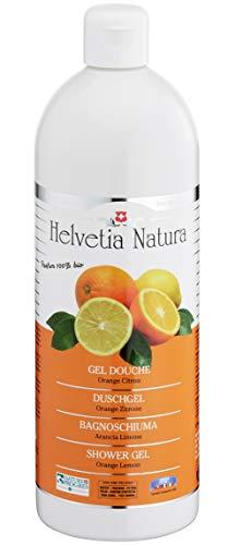 Helvetia Natura - Gel Douche Orange Citron 1L - Lot de 3