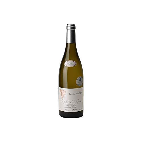 Chablis 1er Cru Vaucoupin Blanc 2017 - Domaine Louis Robin - Vin AOC Blanc de Bourgogne - Cépage Chardonnay - 75cl - Médaille d'Argent 2019 Concours Agricole de Paris