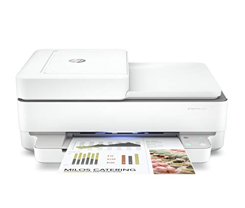 HP Envy 6420 - Impresora multifunción tinta, color, Wi-Fi, Bluetooth 5.0, compatible con Instant Ink (5SE45B)