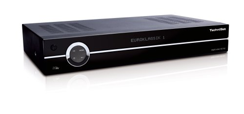 TechniSat DigiCorder HD S2 Digitaler Satelliten-Receiver mit 500 GB Festplatte schwarz