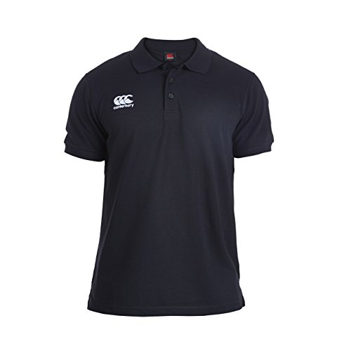 Canterbury Waimak Polo Homme Noir FR : S (Taille Fabricant : S)