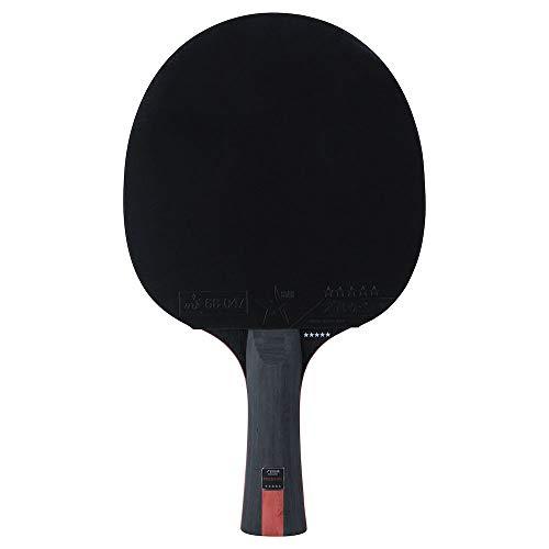 Stiga Unisex-Adult 5-Star Prestige tischtennisschläger, Red/Black, One Size