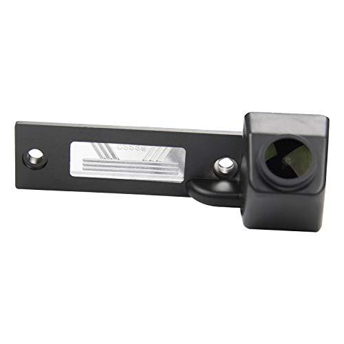 HD 1280x720p Retrocamera 170° Visione Notturna Impermeabile Telecamera posteriori retromarcia Luce Targa Fotocamera per VW Caddy MK4 GOLF R32 Passat B5 B6 Golf IV/Plus Sharan Touran T5
