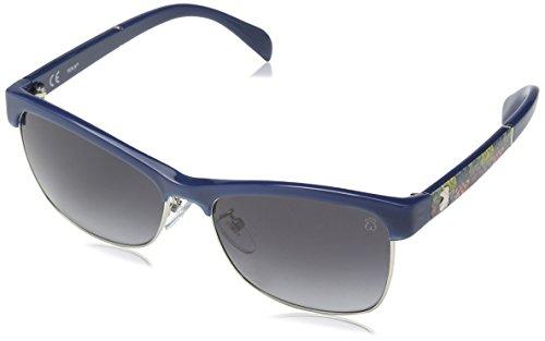 TOUS STO907-5701EG Gafas de sol, Blue/Grey, 57 para Mujer