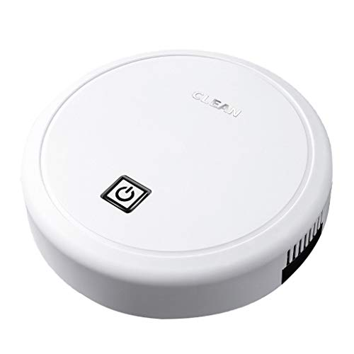 *duquanxinquan Roboter Staubsauger Haushaltsgeräte Bodenwischroboter Wischroboter Ideal für mehrere Räume und große Flächen Weiß (Weiß)*