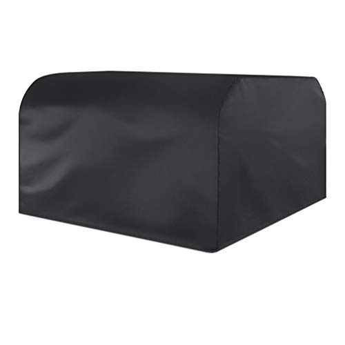 HETUI Cubierta Universal para Muebles de Mesa Impermeable al Aire Libre a Prueba de Polvo 210D Oxford (Negro, 270x180x89cm)