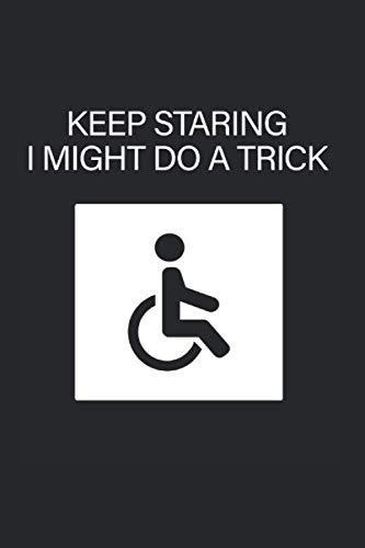 Humoristisches Geschenk für Behinderte Rollstuhl Kalender 2021: Behinderte Kalender...