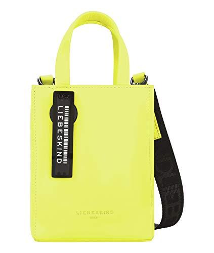 Liebeskind Berlin Handtasche, Paper Bag Tote, Extra Small, neon yellow