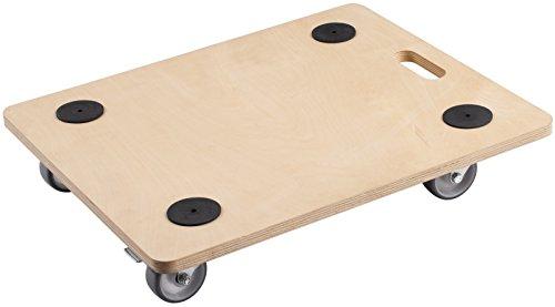 Meister transporte Roller 590x 490mm–200kg Resistencia–contrachapado–Ruedas de poliuretano
