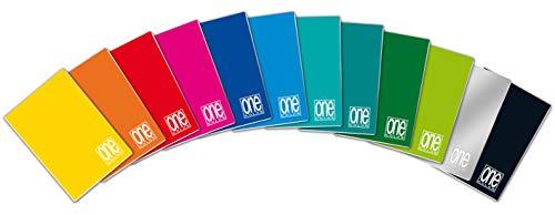 Blasetti Maxi One Color, Quaderno Formato A4, Rigatura 4M, Quadretti 4 mm per 4° e 5° Elementare Medie e Superiori, Carta 80g/mq, Pacco da 10 Pezzi
