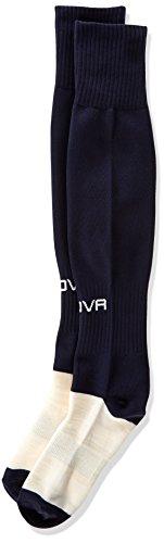 Givova C001 - Chaussettes de football unisexe pour adulte, Homme Fille Femme Garçon, bleu, Senior adulte