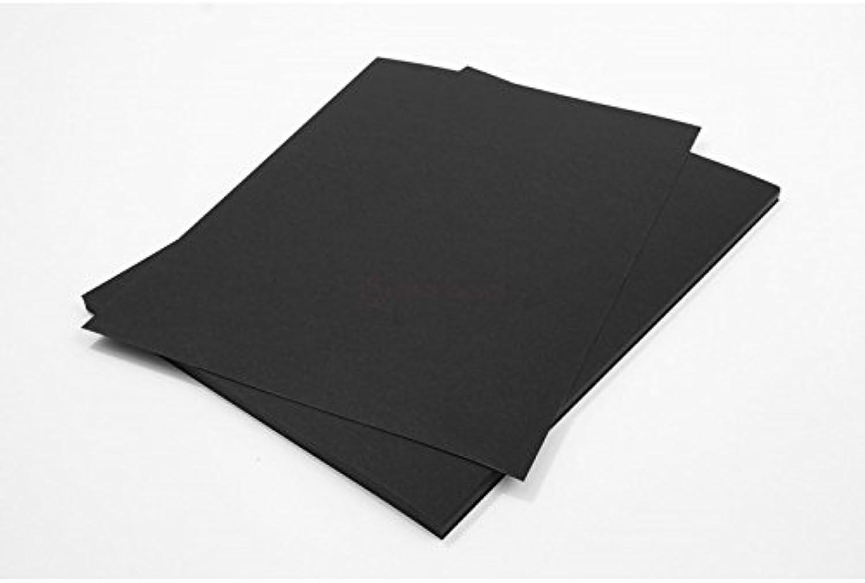 Netuno 500 Blatt Schwarz 320g Tonpapier DIN A4 210x297mm Burano schwarz, ideal für Karten, Scrapbooking, Basteln und Dekorieren mit Papier, Einladungen, Kunst und Handwerk B076SC4978  | Vogue