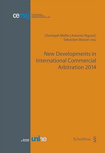 New Developments in International Commercial Arbitration 2014 (cemaj)