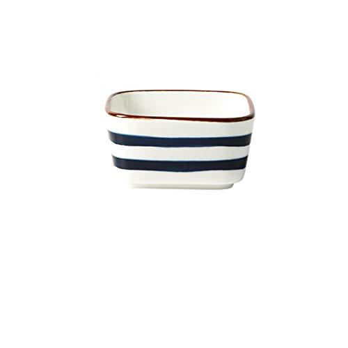 tazón de bayas Plato de porcelana Platos de lateral de sushi Bowl Bowl Japonés Vajilla Lado Platos Aperitivo Tarjeta Aperitivo Salsa de soja Wasabi Placa de condimento tazones de helado ( Color : B )