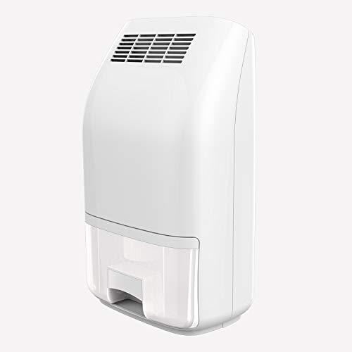 KKDWJ Deumidificatore Bianco 700ml Mini Portatile Compatto Rimuovi Muffa per umidità Riduce i deumidificatori umidi Ideale con l'auto-spegnimento