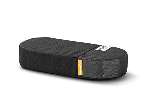 UrbanProof bagagedrager kussen RPET zwart-grijs