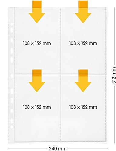 Perfect line 100 fundas guardar transparentes A4