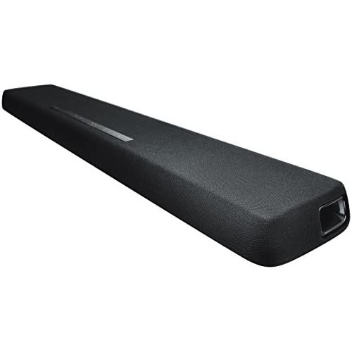 Yamaha YAS-107 Soundbar 120 W con subwoofer integrati, DTS Virtual:X, Bluetooth, HDMI, ottico, Nero