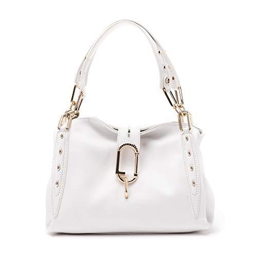 Borsa Liu-jo satchel S a mano/tracolla 3 comparti colore bianco lana BS20LJ53