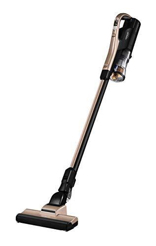 日立 掃除機 コードレス スティッククリーナー 本体日本製 軽量1.3kg 強力パワー 自走式 スティックスタンド付き PV-BL20G N シャンパンゴールド