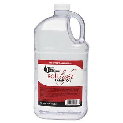 STE30130 - Sterno Soft Light Liquid Wax Lamp Oil, Clear, Gallon