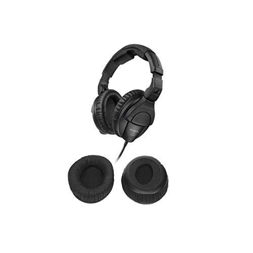 Sennheiser HD 280 PRO Closed Around-the-Ear Monitoring Headphones - With Sennheiser H-85733 Ear Cushions for HD280 Silver/280 Pro Headphones, Pair