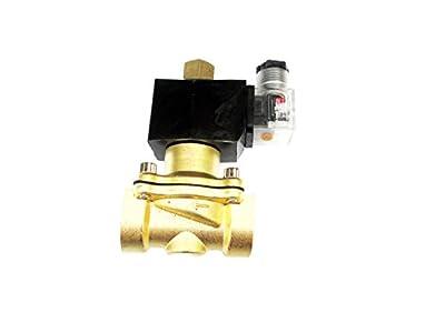 3/4 Inch NORMALLY OPEN 24V AC VAC Brass Solenoid Valve NPT by USonline911