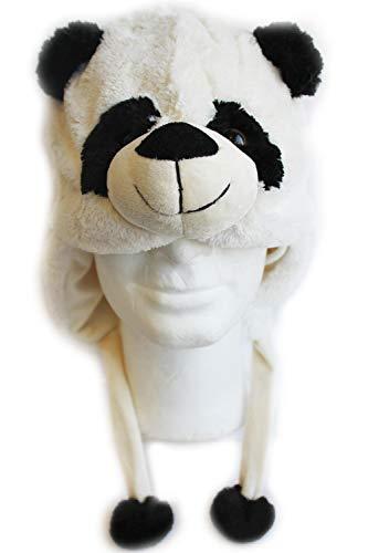 Creation Gross Plüsch Mütze Panda, Pandabär, (2800980)