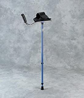 Walk Easy Adult Platform Crutch Black