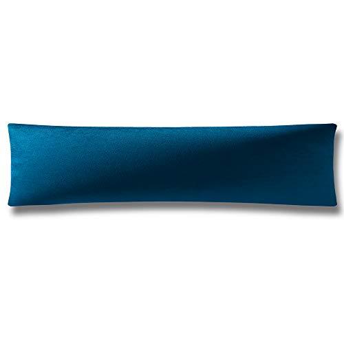 1 Funda de almohada corporal super suave de terciopelo con cierre de cremallera oculto