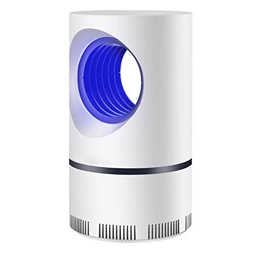 Sulens Mückenvernichter mit LED-Licht - Indoor Insektenvernichter für Mücken, Fruchtfliegen, fliegende Schnecken und Insekten - Fliegende Insektenfalle für Innen